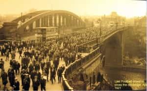 11bBridge Street - Football match day - April 1927 copy