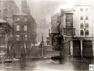 11f Bodlewell Lane - Ferry steps - 28 Feb 1884 copy