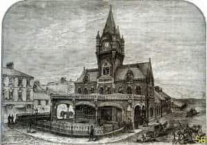 11j Railway Station - graphic