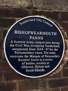 11k Civil War plaque