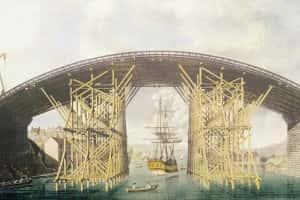 11m Wearmouth Bridge scaffolding