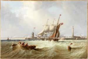 14e Sunderland Pier 1864, Carmichael