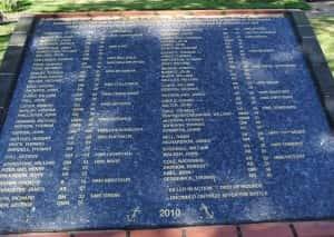 38c Trafalgar plaque