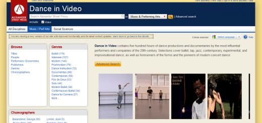 dance in video