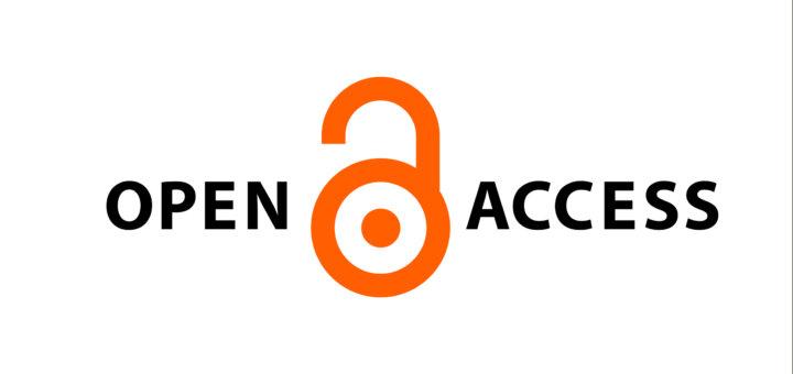 open access logo - an open padlock symbol