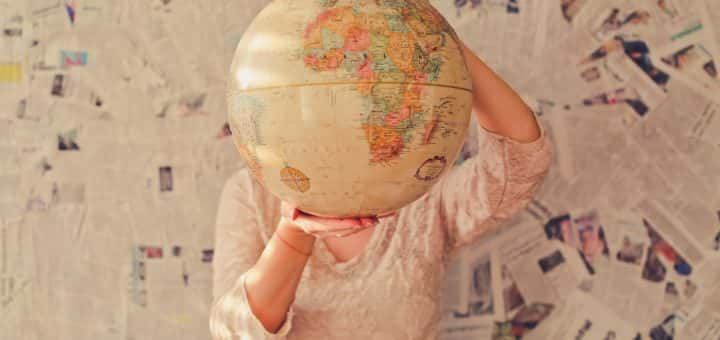 world globe geography