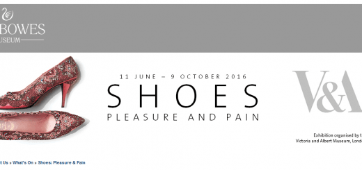 Shoes: pleasure and pain at the Bowes Museum