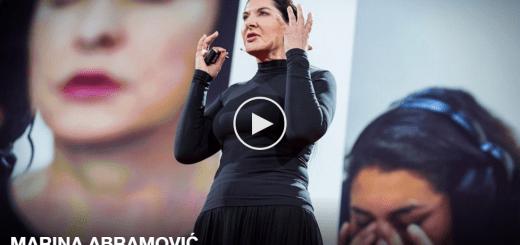 Marina Abramovic Ted Talk