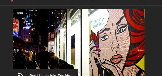 iplayer Roy Lichtenstein screenshot
