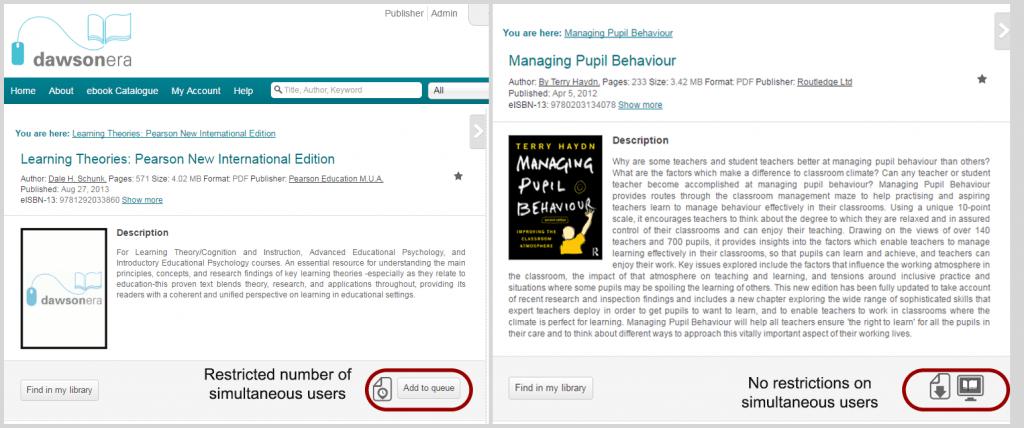 ebooks-user models