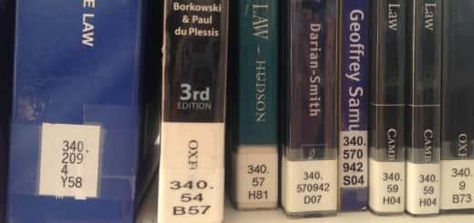 Shelfmark labels
