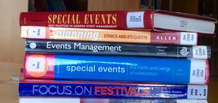 Events books