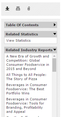 Euromonitor - statistics