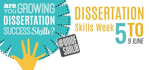 Dissertation skills week