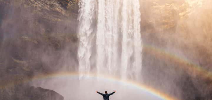 Pride - waterfall