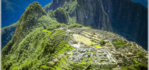 Photograph: Machu Picchu Peru