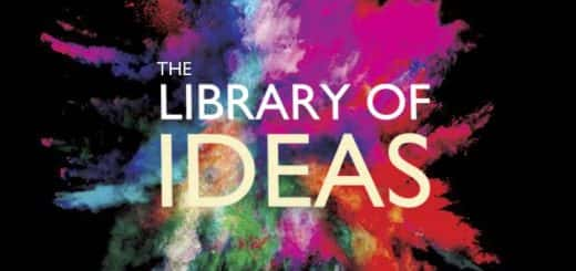 Poster advertising the British Library's 'Library of Ideas' event