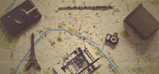 Photo: Map of Paris