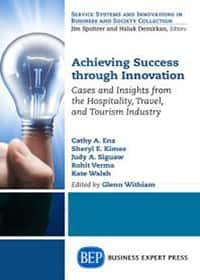 book cover - Achieving Success Through Innovation