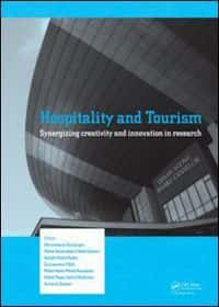 book cover - Hospitality and tourism synergizing creativity