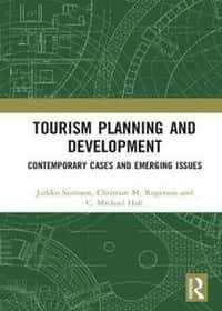 book cover - Tourism planning and development