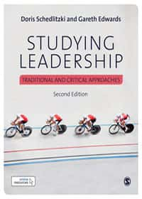 Book cover - studying leadership