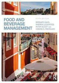 Book covers - Food and beverage management