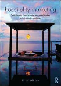 Book covers - Hospitality marketing