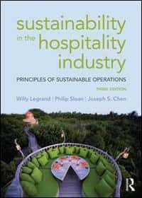 Book covers - Sustainability in the hospitality industry