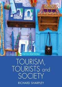 Book covers - Tourism, tourists and society
