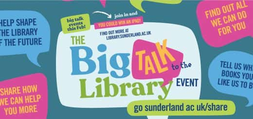 Library Big Talk campaign