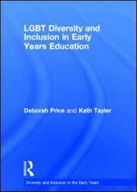 Book cover - LGBT diversity and inclusion in early years