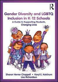 Book cover - gender diversity and LGBT inlcusion