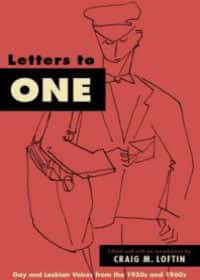 Book cover - letters to one