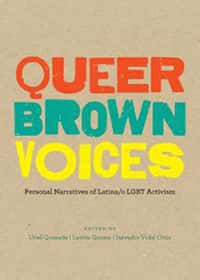 Book cover - queer brown voices