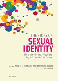 Book cover - story of sexual identity
