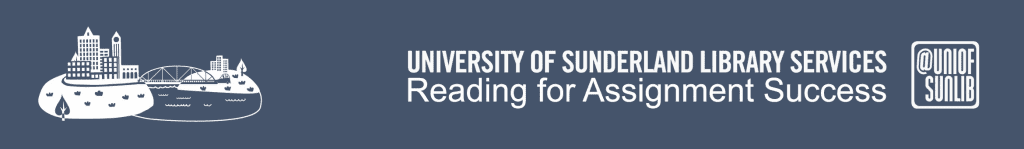 Header - Reading for assignment success