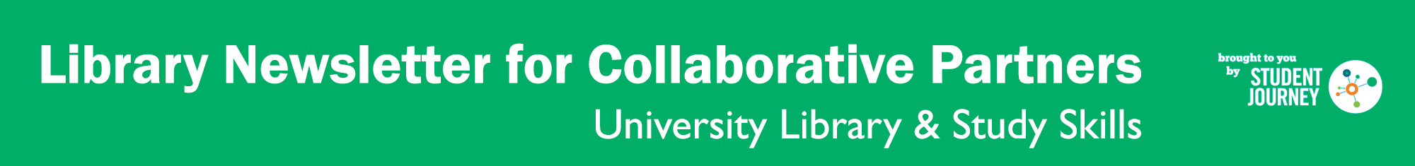 Header image: Library Newsletter for Collaborative Partners