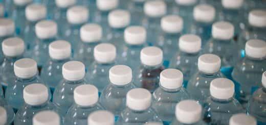 Photo of lots of bottles of water