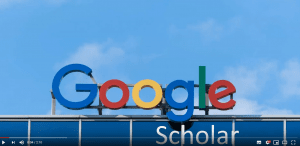 picture of Google Scholar logo