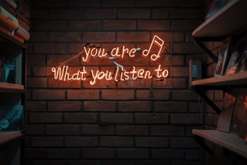 You are what you listen to photo