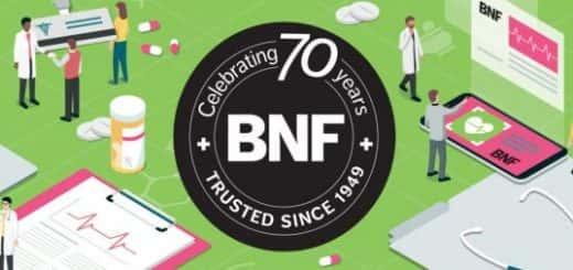 BNF 70 years celebration banner