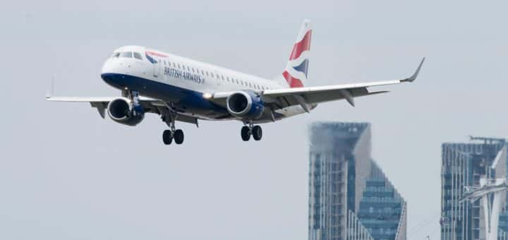 British Airways plane mid flight
