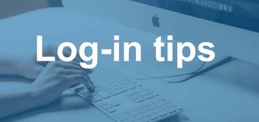 Login tips