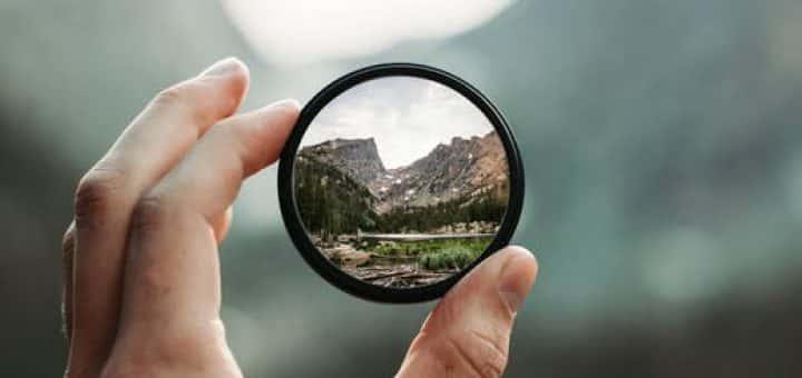 camera, close-up, glass