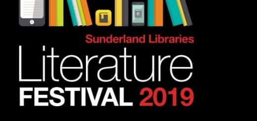 logo for the Sunderland Libraries Literature Festival 2019