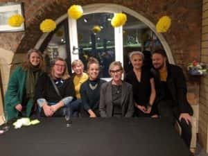 Group of authors and illustrators who attended Lauren Child talk at Seven Stories, Newcastle - October 2019