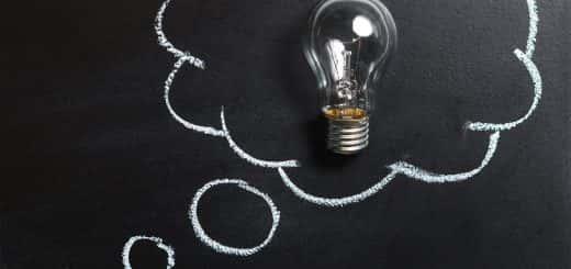 blackboard light bult
