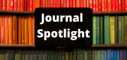 photo of colourful books with 'Journals spotlight' over the top