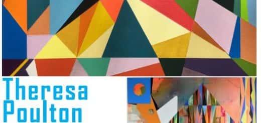Creative Lives talks poster - Theresa Poulton
